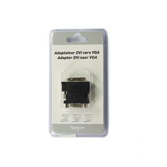 Adaptateur Temium DVI Mâle vers VGA Femelle