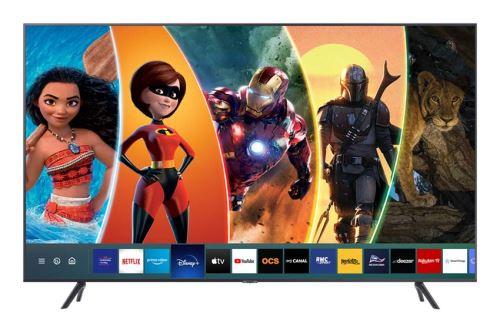 """Plus de détails TV Samsung 50TU7175 4K Crystal UHD Smart TV 50"""" Gris Carbone 2020"""