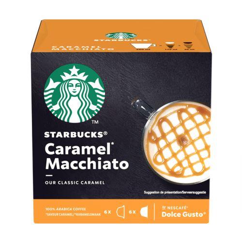 Pack de 12 capsules Dolce Gusto Starbucks Nescafé Caramel Macchiato