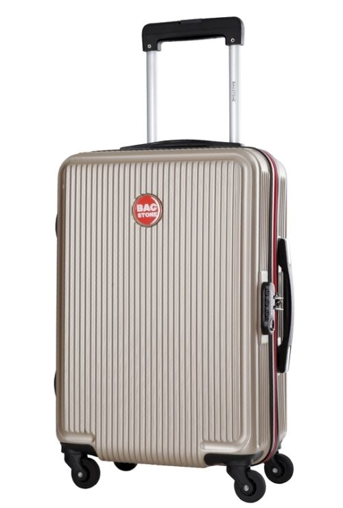Valise cabine rigide Bag Stone Goldy Beige 4 roues 39 L