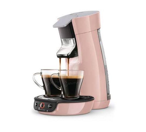 Cafetière à dosettes ou capsules Philips Senseo Viva Café HD6563/31 1450 W Rose