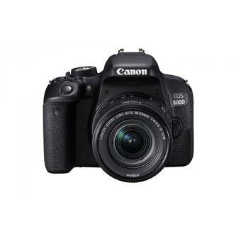 Reflex Canon EOS 800D + Objectif 18-55 mm IS STM