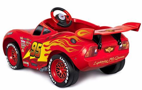 Véhicule électrique Feber Cars 3 Flash McQueen 6 V Rouge