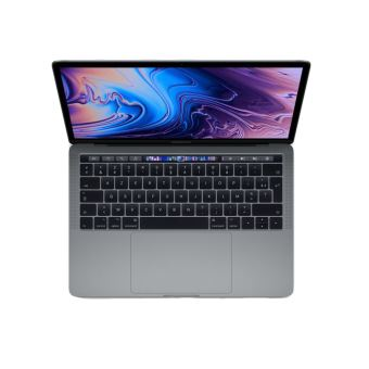 "Apple MacBook Pro with Touch Bar - Core i5 2.4 GHz - Apple macOS Mojave 10.14 - 8 GB RAM - 512 GB SSD - 13.3"" IPS 2560 x 1600 (WQXGA) - Iris Plus Graphics 655 - Wi-Fi, Bluetooth - spacegrijs - tsb Frans AZERTY"