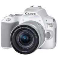 Reflex Canon EOS 250D Blanc + Objectif EF-S 18-55 mm f/4-5.6 IS STM