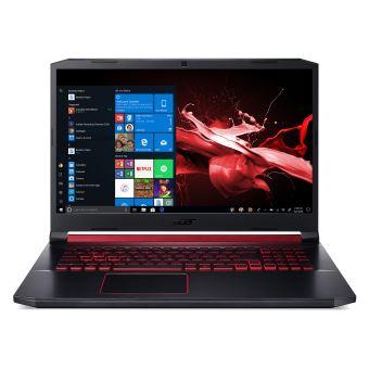 """Acer Nitro 5 AN517-51-72CQ 17.3"""" 512Go SSD 8Go RAM Core i7-9750H 2.6GHz GF GTX 1650 Noir"""