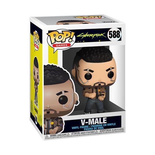 Figurine Funko Pop Games Cyberpunk 2077 V Male