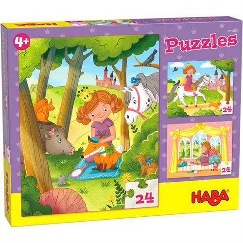 Puzzles enfant Haba Princesse Valérie