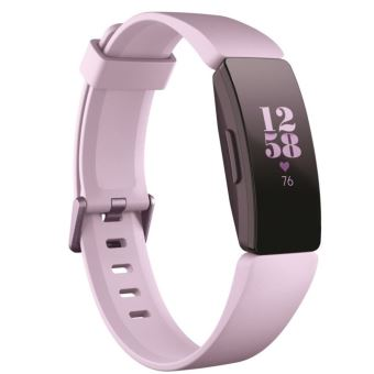 Fitbit Inspire HR Lilas Verbonden Armband - Preorder