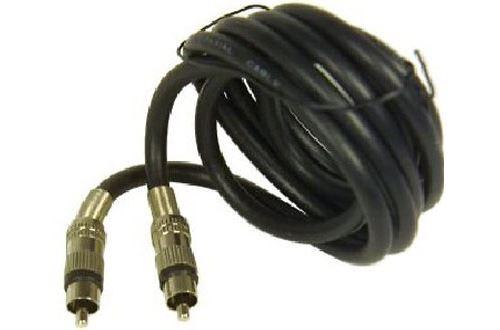 Câble vidéo Temium B6511 Coaxial blindé 1.5 m Noir