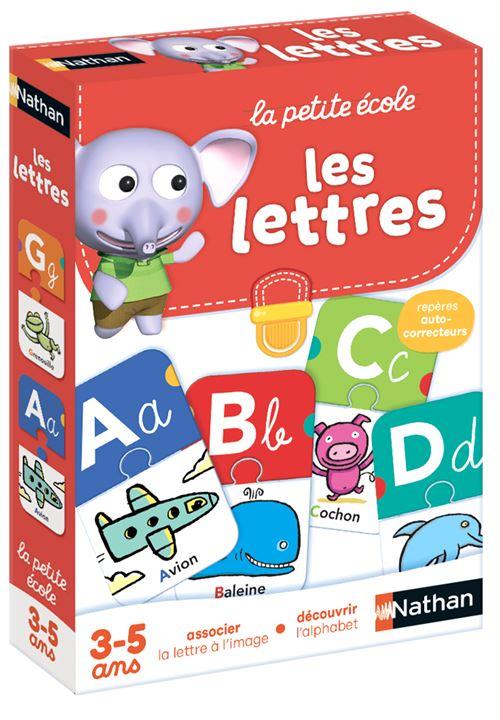 Jeu découverte Nathan Les Lettres
