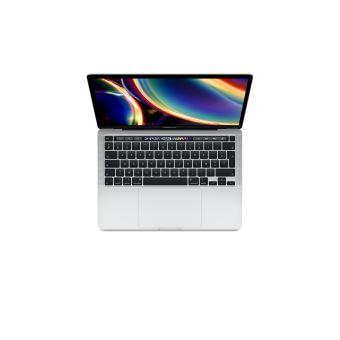 Apple MacBook Pro 13'' Touch Bar 512 Go SSD 8 Go RAM Intel Core i5 quadricœur à 1.4 GHz Argent Nouveau