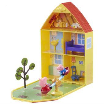 Jouet Peppa Pig La maison de Peppa avec Jardin et 10 Personnages