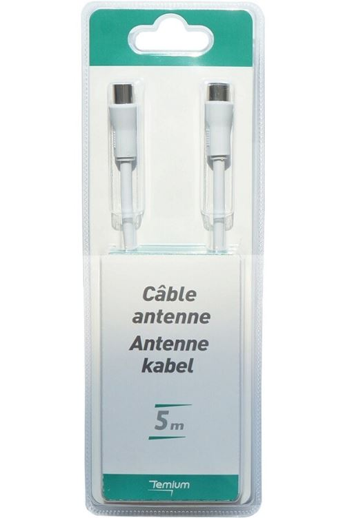 Câble coaxiale Temium 5 m