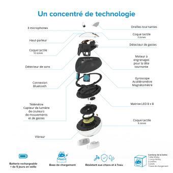Robot éducatif Winky Exclusivité Fnac Noir et Blanc