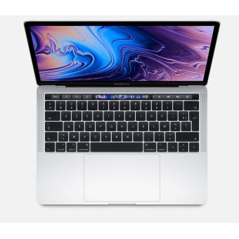 "Apple MacBook Pro with Touch Bar 13.3"" 256GB SSD 8GB RAM Intel Core i5 2.4GHz Iris Plus Graphics 655 Zilver"