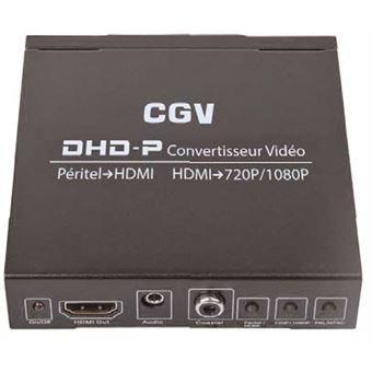 Convertisseur vidéo CGV DHD-P Péritel vers HDMI Noir