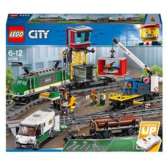 LEGO® City Trains 60198 Le train de marchandises télécommandé