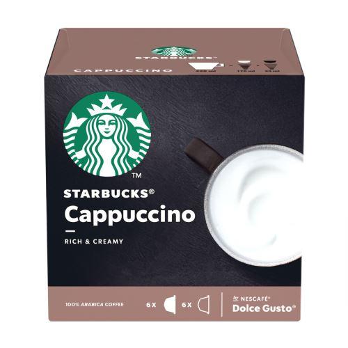Pack de 12 capsules Dolce Gusto Starbucks Nescafé Cappuccino