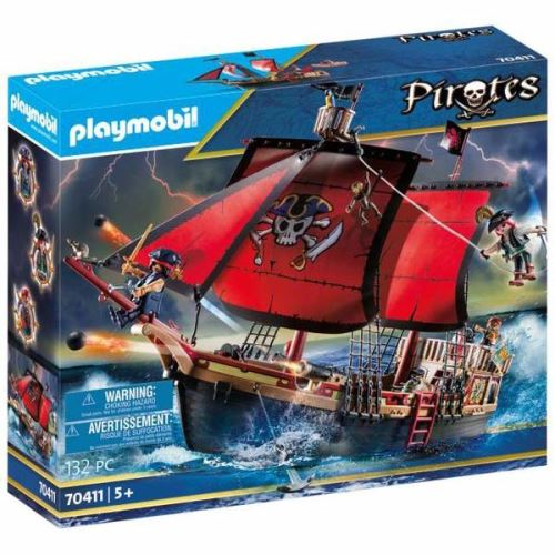 Playmobil Pirates 70411 Bateau pirates