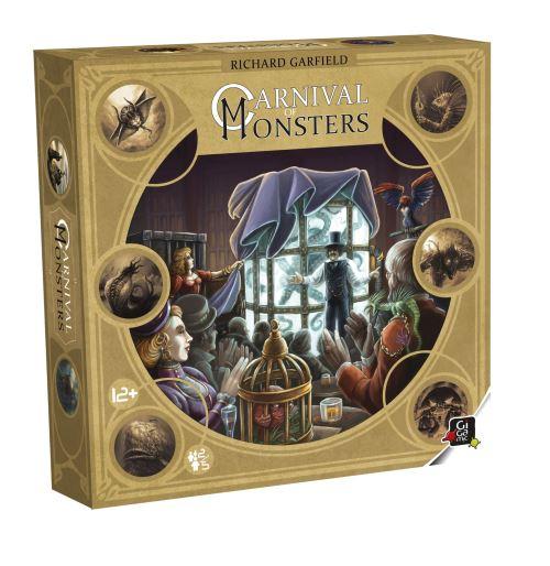 Jeu de cartes Gigamic Carnival of monsters