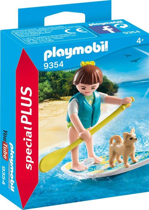 Playmobil Family Fun La Villa de vacances 9354 Sportive avec paddle