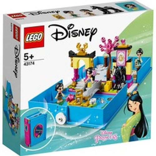 LEGO® Disney Princess™ 43174 Les aventures de Mulan dans un livre de contes