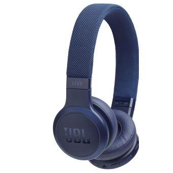 JBL LIVE 400BT - Koptelefoon met micro - op oor - Bluetooth - draadloos - blauw