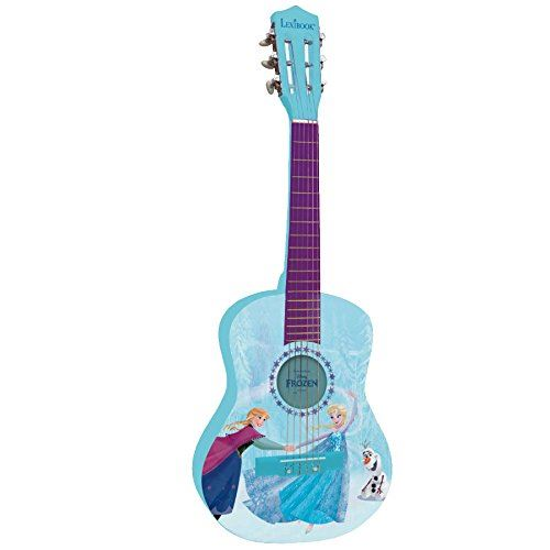 Guitare Acoustique Lexibook La Reine des Neignes 78 cm