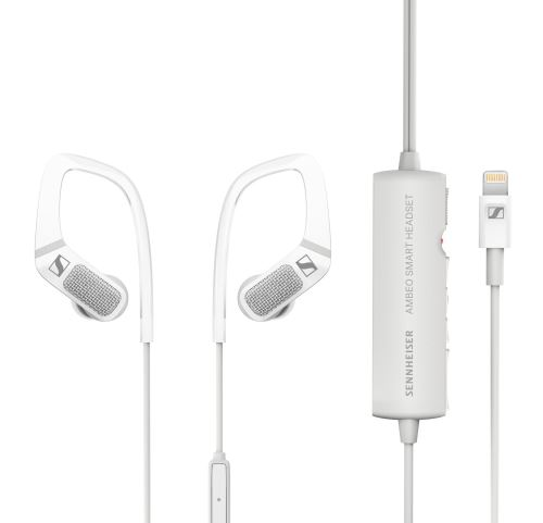 Ecouteurs Sennheiser Ambeo Smart Headset Blanc