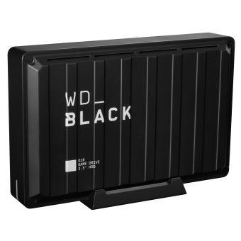 Disque dur externe WD_Black™ D10 Game Drive 8 To Noir
