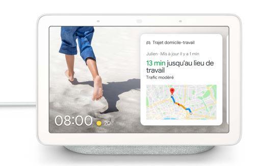 Enceinte intelligente Google Nest Hub Galet