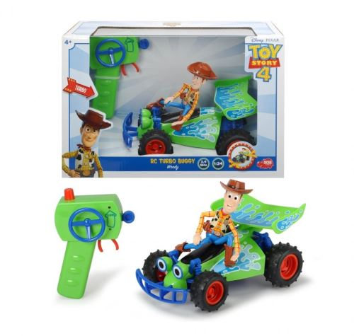 Véhicule radiocommandé Dickie Toy Story RC Buggy 1:24 Woody