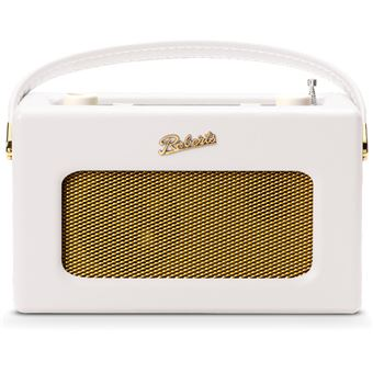 Radio numérique Bluetooth FM, DAB et DAB+ Roberts Revival iStream 3 Blanc