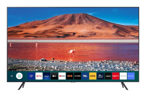 """Plus de détails TV LED Samsung 65TU7125 4K UHD 65"""" Smart TV Noir"""