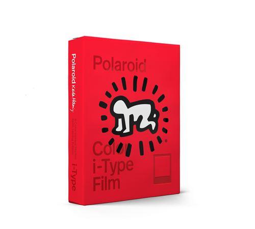 Films couleur 8 photos pour appareils Polaroid i-Type Edition Keith Haring 2021 Rouge