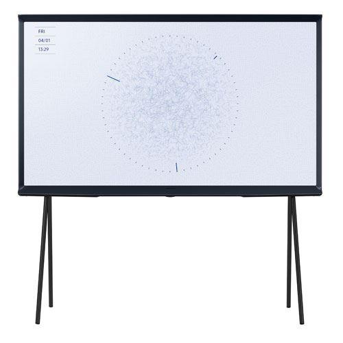 """Plus de détails TV Samsung The Serif 43LS01RD 43"""" QLED HDR 4K Ultra HD Bleu Nuit"""