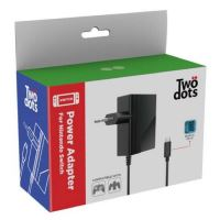 Chargeur secteur Two Dots Noir pour Nintendo Switch