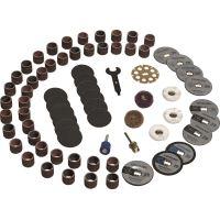 Coffret 70 accessoires Dremel ez speedclic sc725 2615e725ja