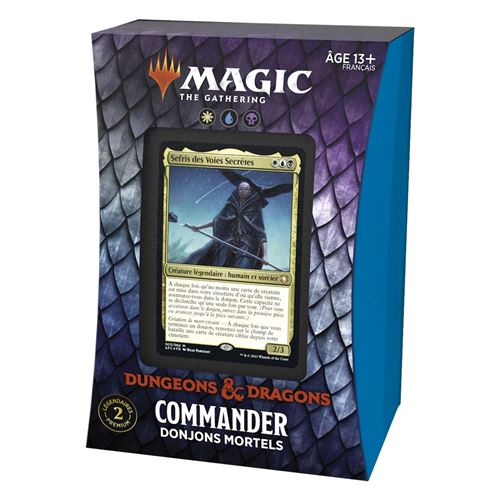 Jeu de cartes Magic The Gathering Forgotten Realms Commander Deck Modèle aléatoire