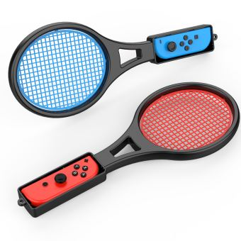Pack de 2 Raquettes de tennis Steelplay pour Joy-Con Nintendo Switch