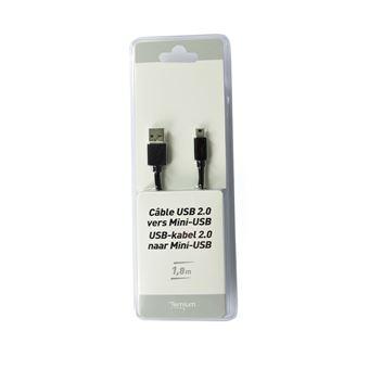 Câble Temium USB vers Mini USB 1.8 m