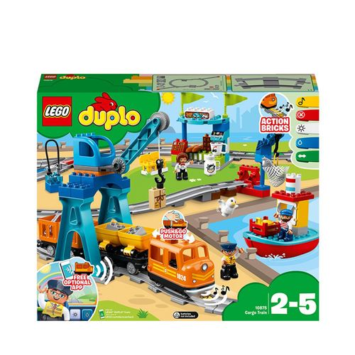 LEGO® DUPLO® Town Trains 10875 Le train de marchandises