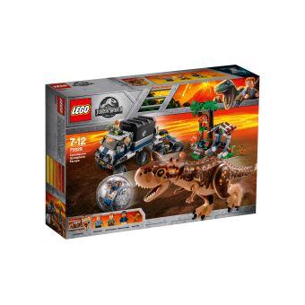 LEGO LA FUITE DE CARNOTAURUS DE LA GYROS