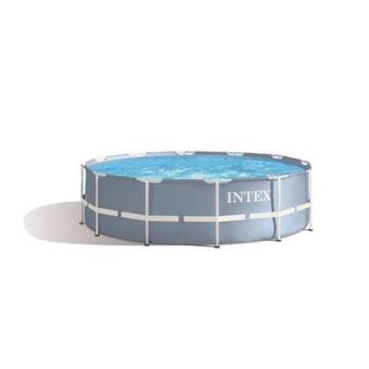 Piscine tubulaire ronde Intex Prism Frame 28712NP