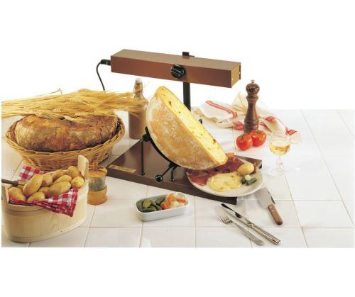 Appareil /à raclette Alpage/® Signature Inox LOUIS TELLIER Interrupteur de s/écurit/é Taille Adapt/ée pour toute portion de Meule 6 /à 8 Personnes 230V Rampe Chauffante R/églable en Hauteur