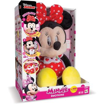 Peluche Interactive Sonore IMC Toys Minnie Emotions