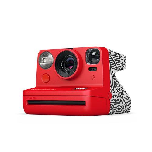Appareil photo instantané Polaroid Now Edition Keith Haring 2021 Rouge