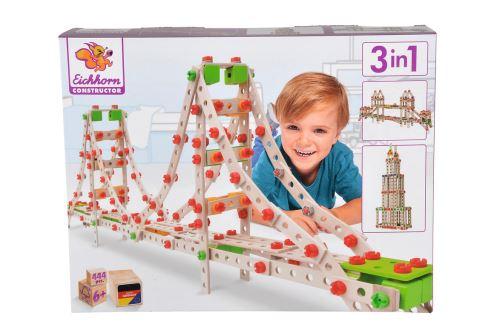 Jeu de construction Eichhorn Golden Gate 3 en 1 444 pièces