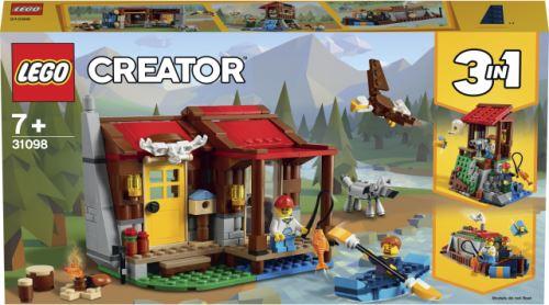 LEGO® Creator 3 en 1 31098 Le chalet dans la nature